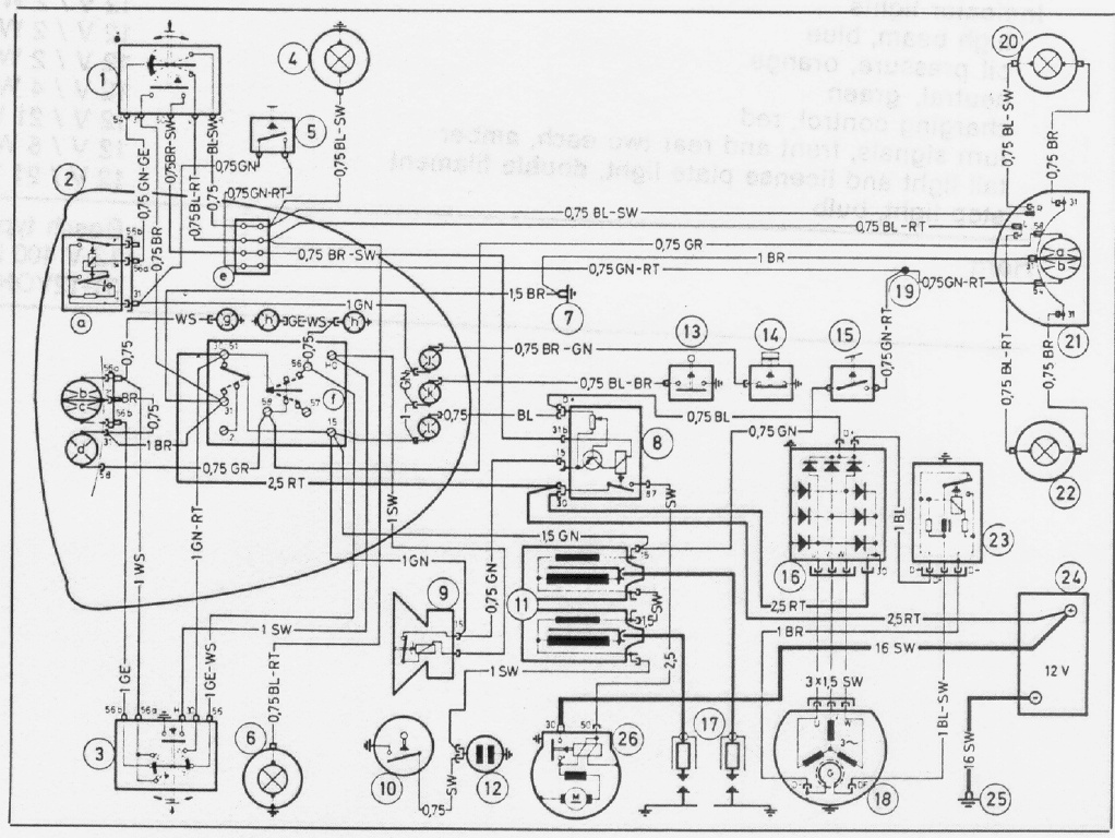 Techdata on wiring diagram electric motorcycle