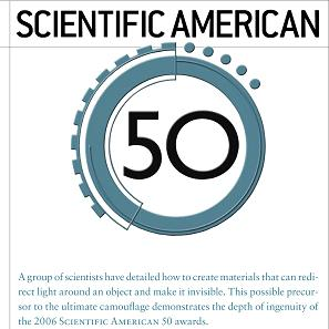 Scientific American Article, 2006