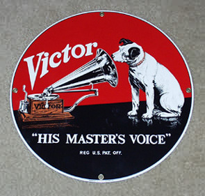 "Victor ""His Master's Voice"" Sign"
