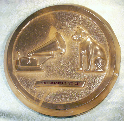 "RCA ""His Master's Voice"" Sign"