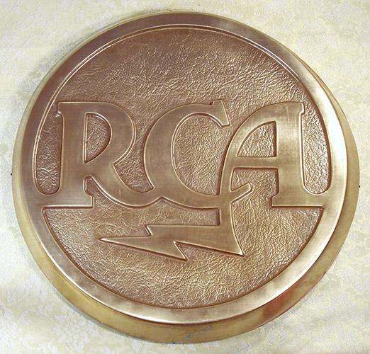 RCA Logo Sign