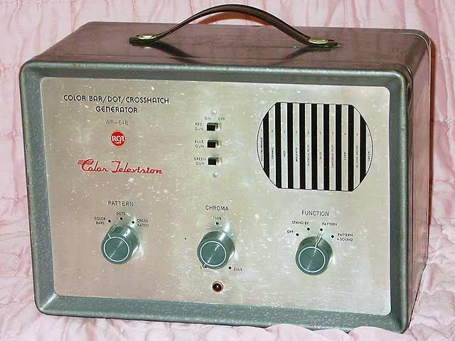 Color Bar Generator : Miscellaneous antiques rca wr b