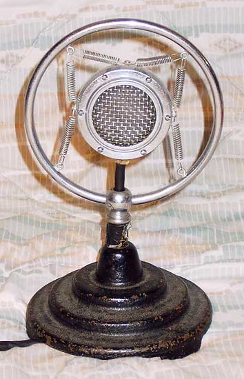 Shure 70H Microphone 1935-1940's