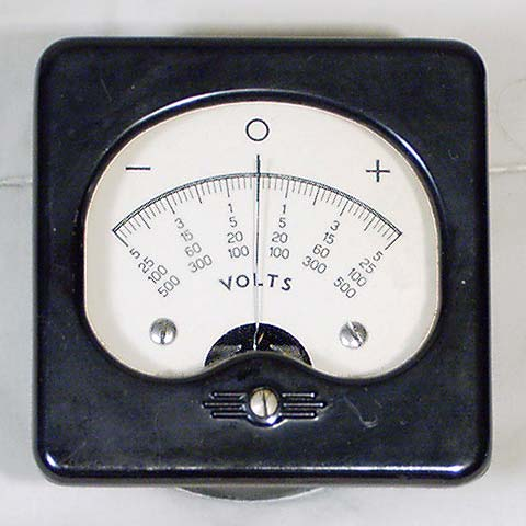 Unknown Zero Center Volt Meter