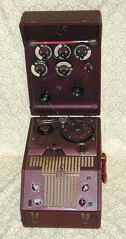 Webster-Chicago 288-1R Wire recorder c. 1950