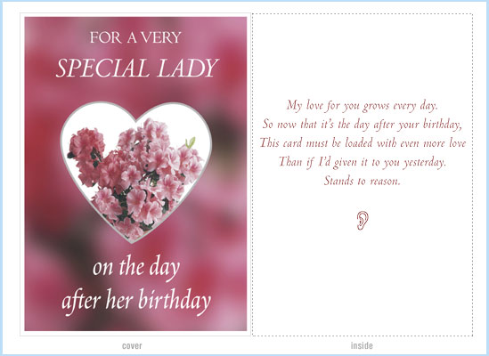 Results For Best Birthday Card For Ex Girlfriend
